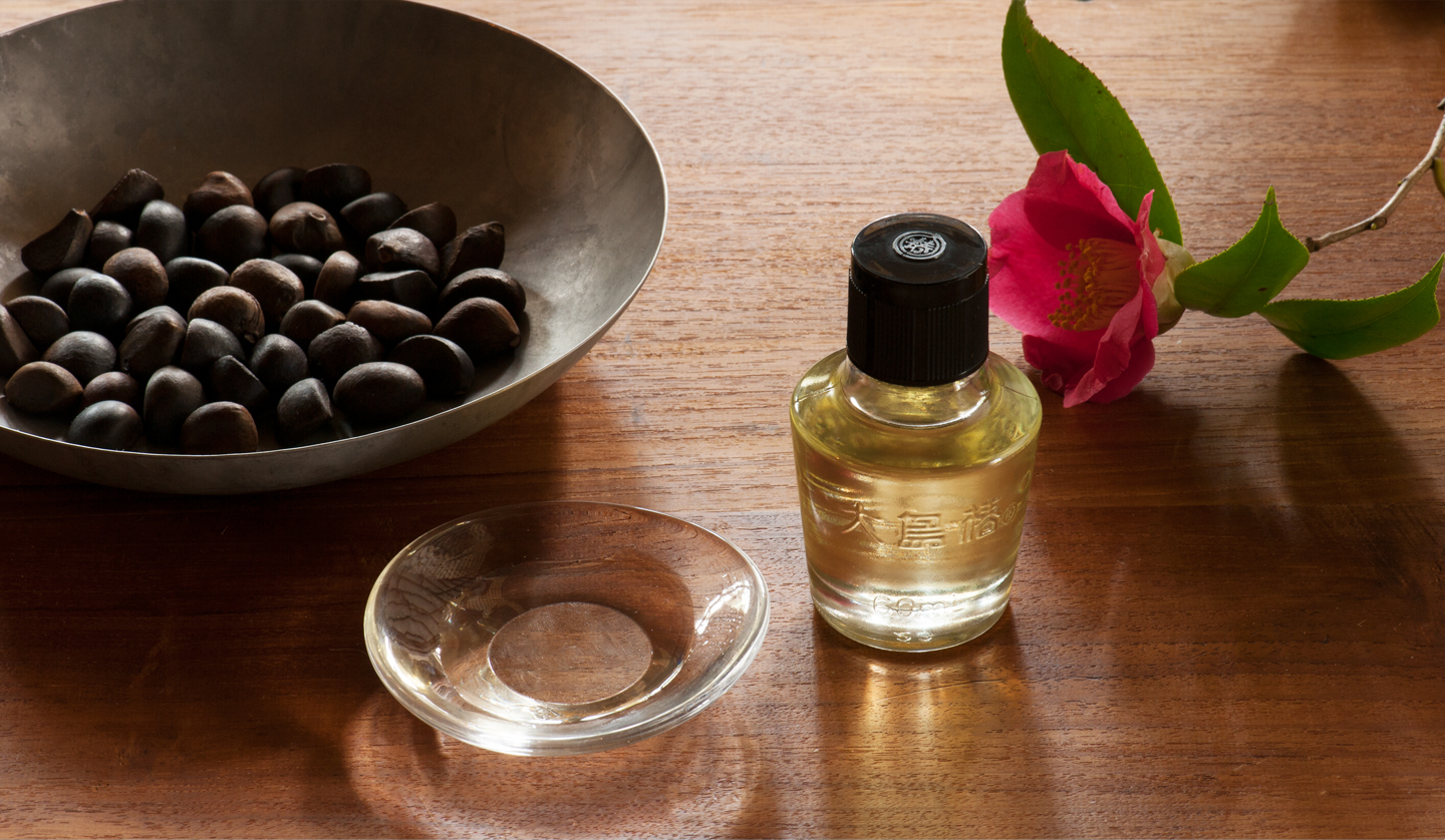 100% Natural Camellia Oil OSHIMA TSUBAKI For the first-time user