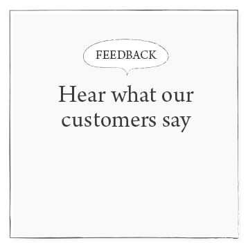 Hear what our customers say